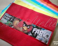 Toalha Personalizada Angry Birds