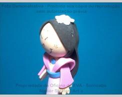Ponteiras Princesas - Mulan