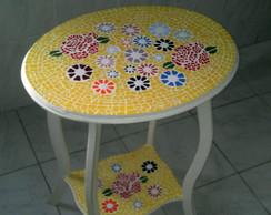 Mesa Mosaico Flores