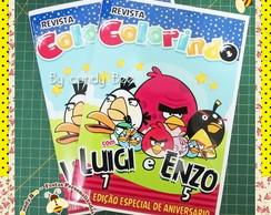 Revista Personalizada Angry Birds