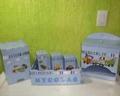 Kit Higi�ne  Beb� Azul
