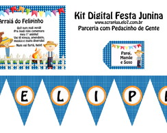 Kit Digital Festa Junina