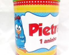 R�tulo lata de leite 400g Galinha 1