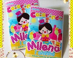 Revista Personalizada Circo Menina