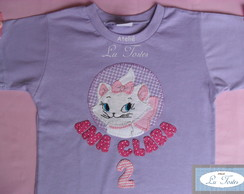 Camisa ou Body Gata Marie (modelo 2)