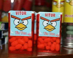 Pastilha Personalizada Angry Birds