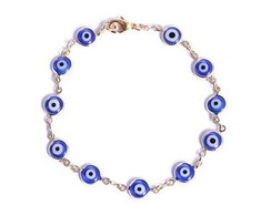 Pulseira olho grego azul Frete Gratis