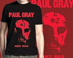CAMISETA MASCULINA PAUL G. TRIBUTE-91504
