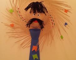 Chap�u junino decorado
