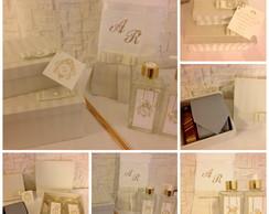 Kit caixa casamento