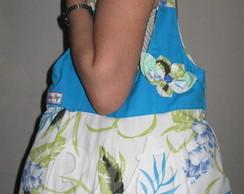 Bolsa de Tecido Floral Ref.:314