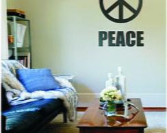 Adesivo De Parede Musical Peace