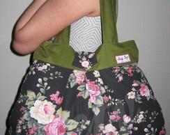 Bolsa de tecido Floral Ref.: 315