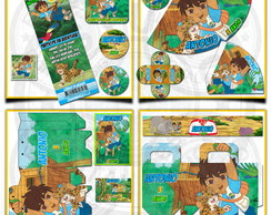 Artes Kit Festa Infantil Go Diego Go