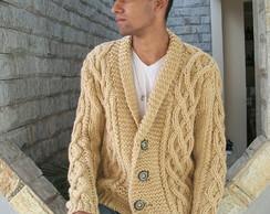 Cardig� Masculino em trico