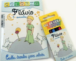 Kit Colorir Pocket  - Pequeno Principe