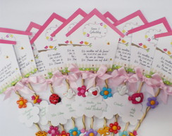 Convite Jardim - pink