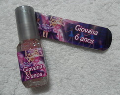Esmalte Glitter + Mini Lixa Barbie Pop S