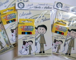 Kit Colorir Pocket - Casamento