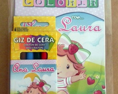 Kit Colorir Pocket Moranguinho Baby