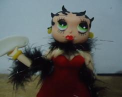 Betty Boop - Topo de Bolo