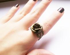 Anel Vintage Bronze Rose