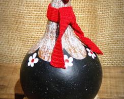 Galinha De Caba�a - Com cachecol