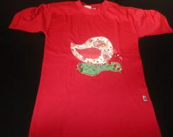 Camiseta Infantil Em Patch Aplique
