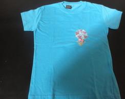 Camiseta Infantil com bordado