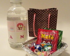 Kit Mini Marmita com Doces e Mini �gua