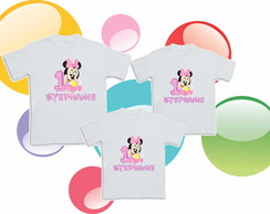 Camiseta  Anivers�rio Minnie