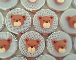 Latinha personalizada urso