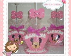 Centro de mesa Minnie Rosa