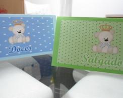 Cart�o De Mesa doce/salgado