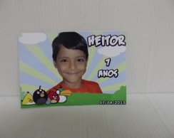 Adesivo Personalizado Angry Birds