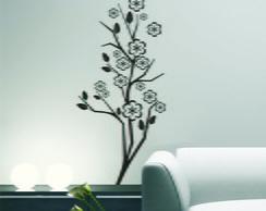 Adesivo Decora��o Parede Galho e flores