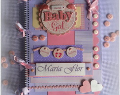 Livro do beb� Sweet Baby Girl