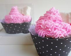 Sabonete Cupcake borboletinha