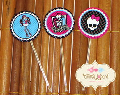 Topper Para Doces - Monster High