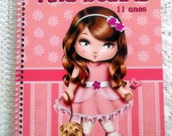Caderno Personalizado da Jolie