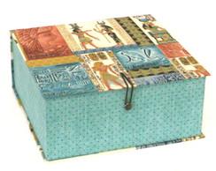 Caixa Organizadora Quadrada Egito