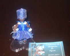 Miniatura De Orix� Ogum 10 unid