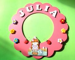 Enfeite de Porta personalizado JULIA