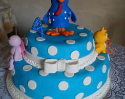Bolo e topo de bolo