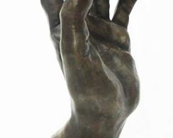 Escultura feito em bronze