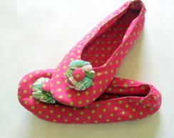 Sapatilhas Po� Pink