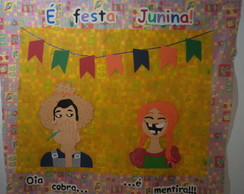 painel para festa junina