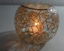 lumin�ria para vela