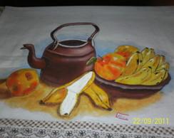Panos de prato pintados a m�o