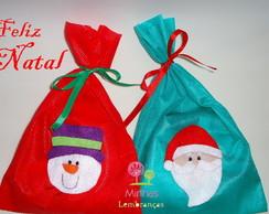 Natal - Saquinho para presente